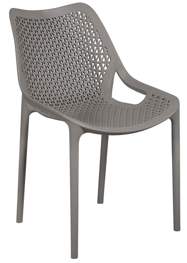 chaise professionnelle terrasse jardin grise